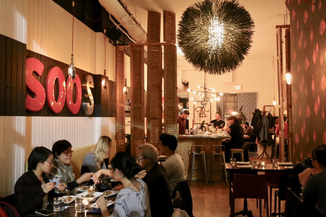 Ossington Restaurants: Soos Toronto serves the city's best Malaysian dishes.