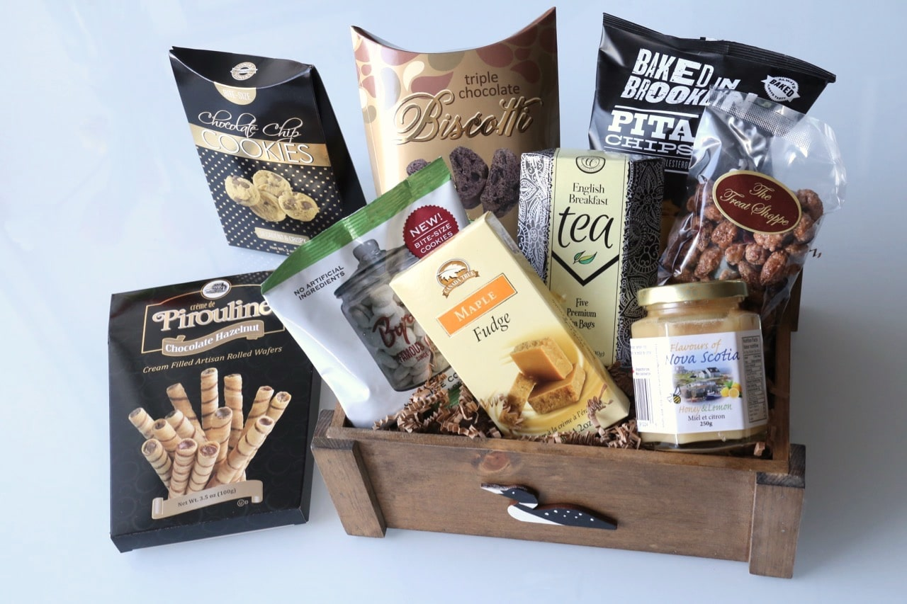 A cottage inspired gift basket by Gifts For Every Reason