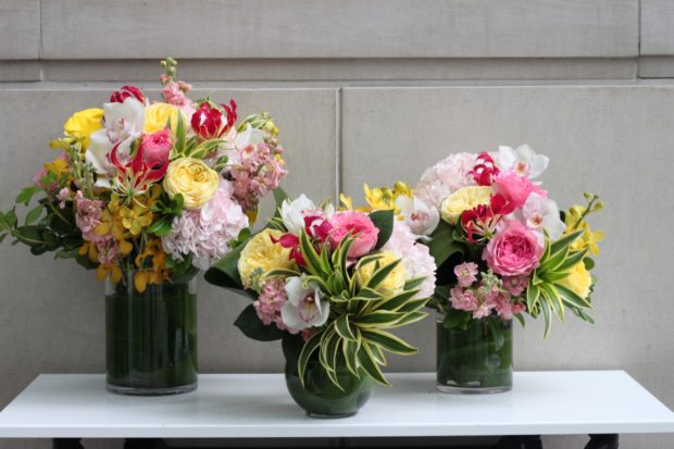 Toronto Flower Delivery: a trifecta of beautiful bouquets from Pistil Flowers.