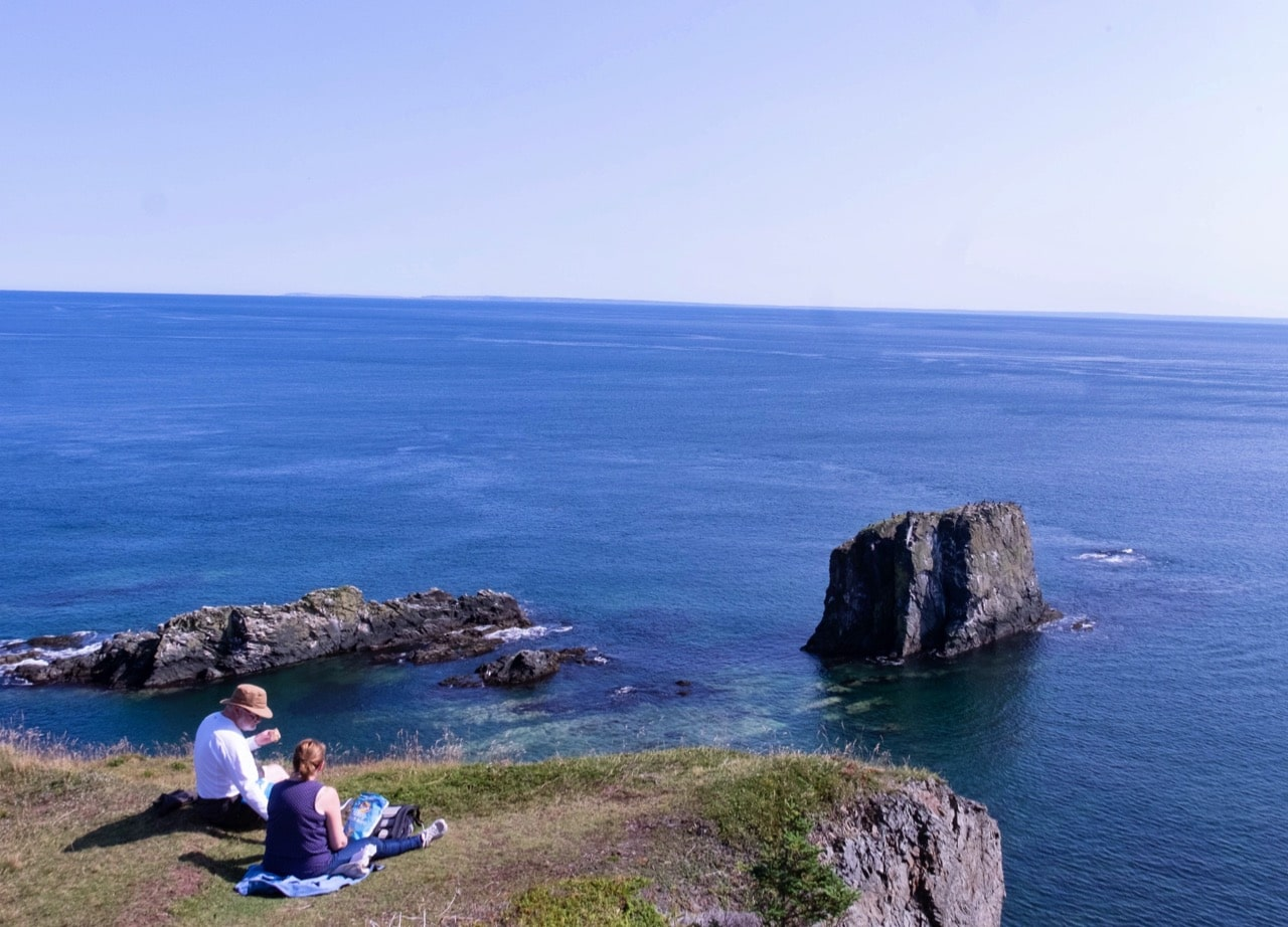 Jim Byers hikes Newfoundland's scenic Skerwink Trail.