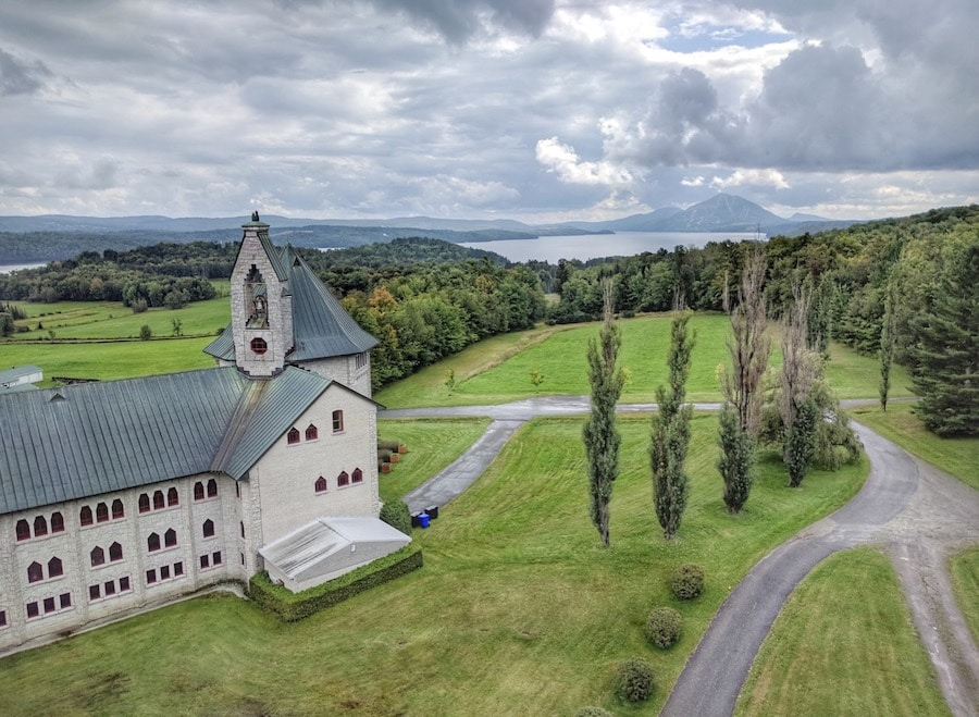 Canadian Road Trip Must-See: Sip wine at an Abbey in Quebec's Eastern Townships.