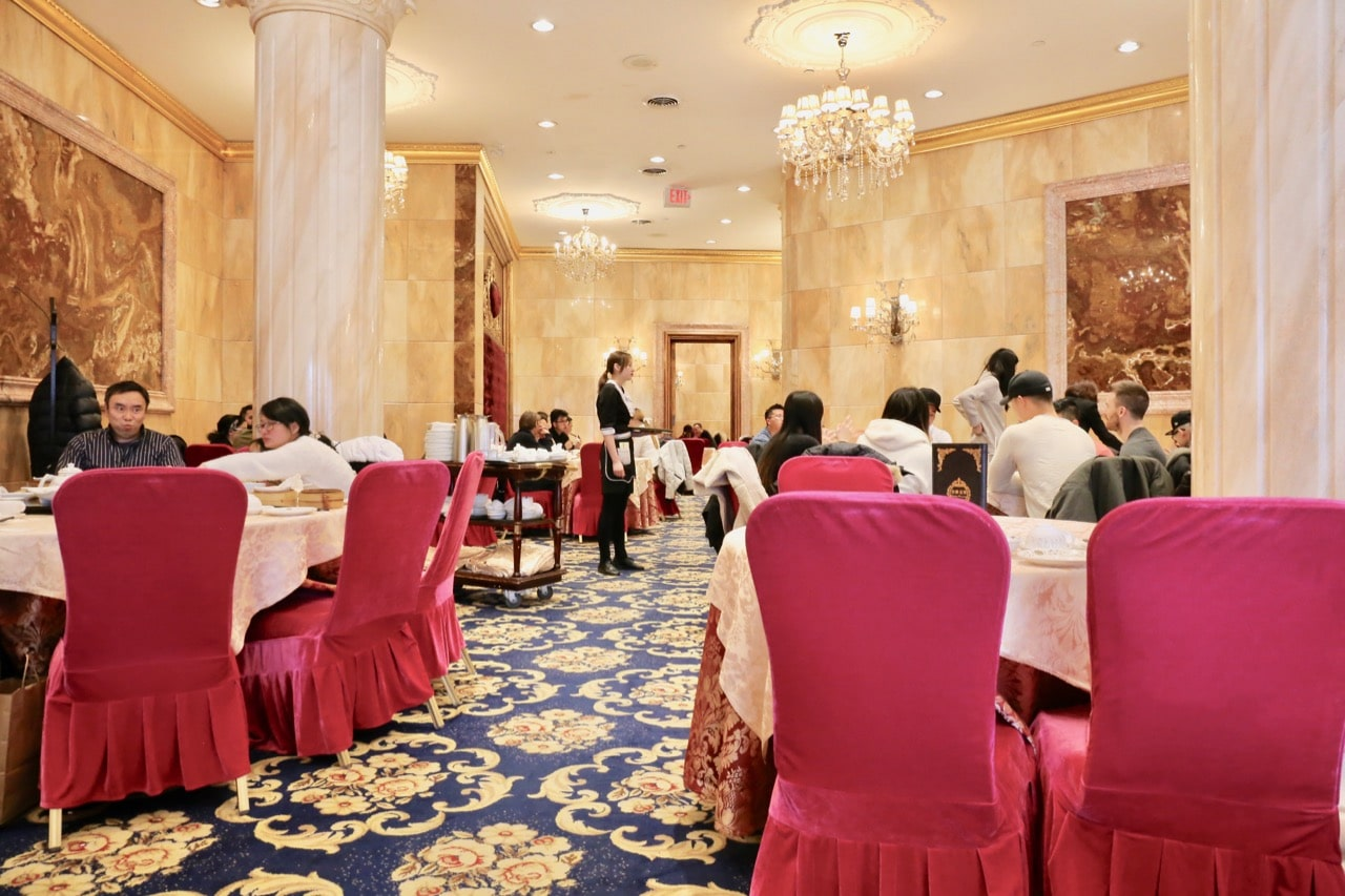 Crown Princess serves the best dim sum in Yorkville.