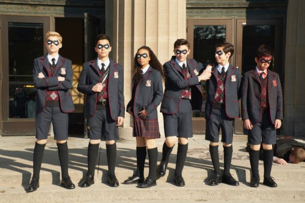 Umbrella Academy: Ellen Page is in a Dysfunctional Superhero Family