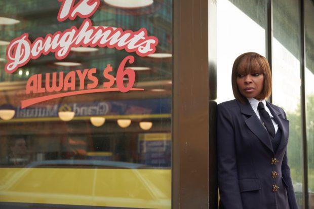 American R&B icon Mary J Blige in Netflix's Umbrella Academy.