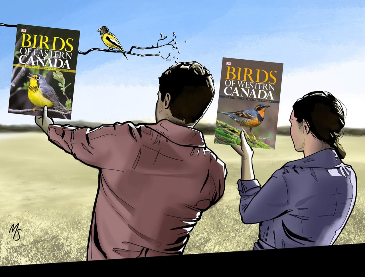A duo of bird books for Canadian nature lovers.