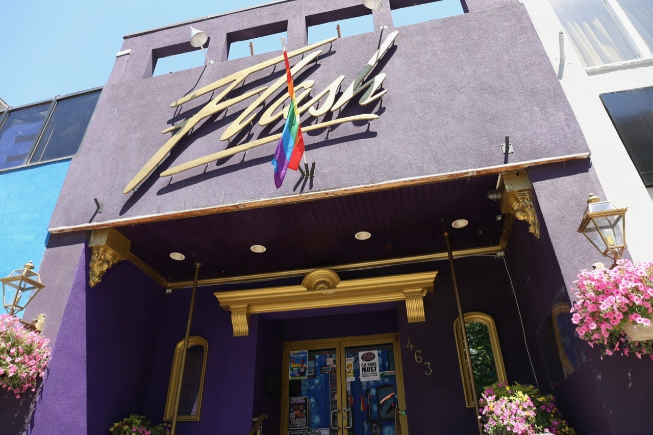Flash on Church is the only gay strip club in The Village.