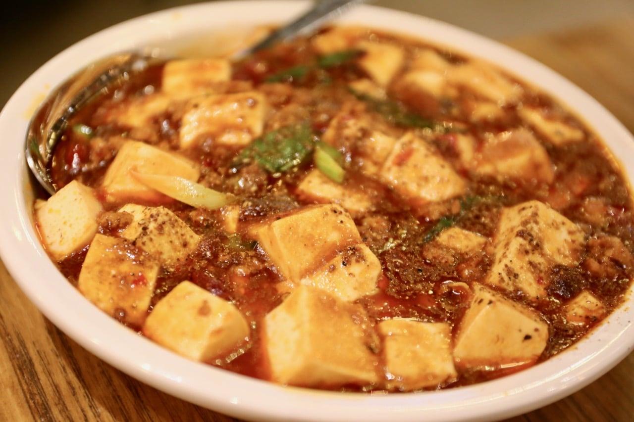 Mapo Tofu at Hutaoli restaurant in Toronto.