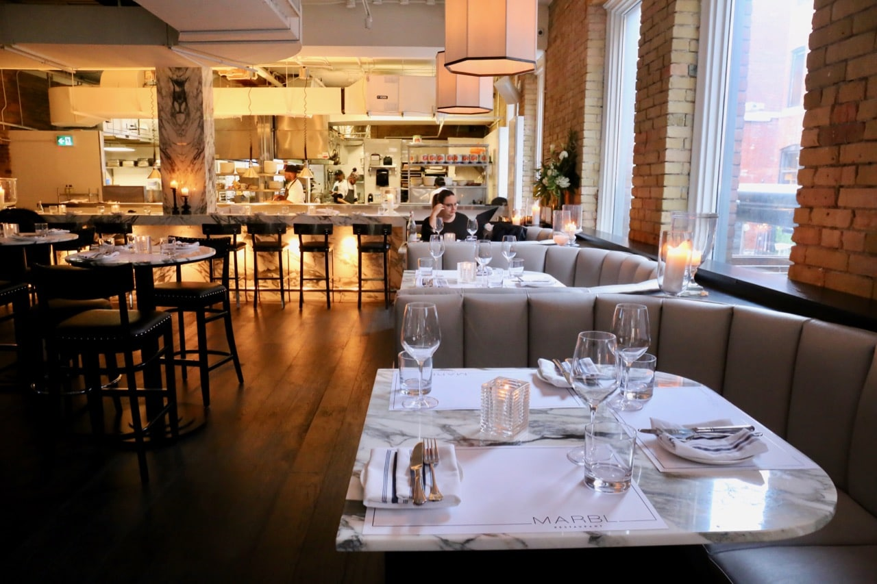 MARBL restaurant on King Street West is one of Toronto's best new steakhouses.