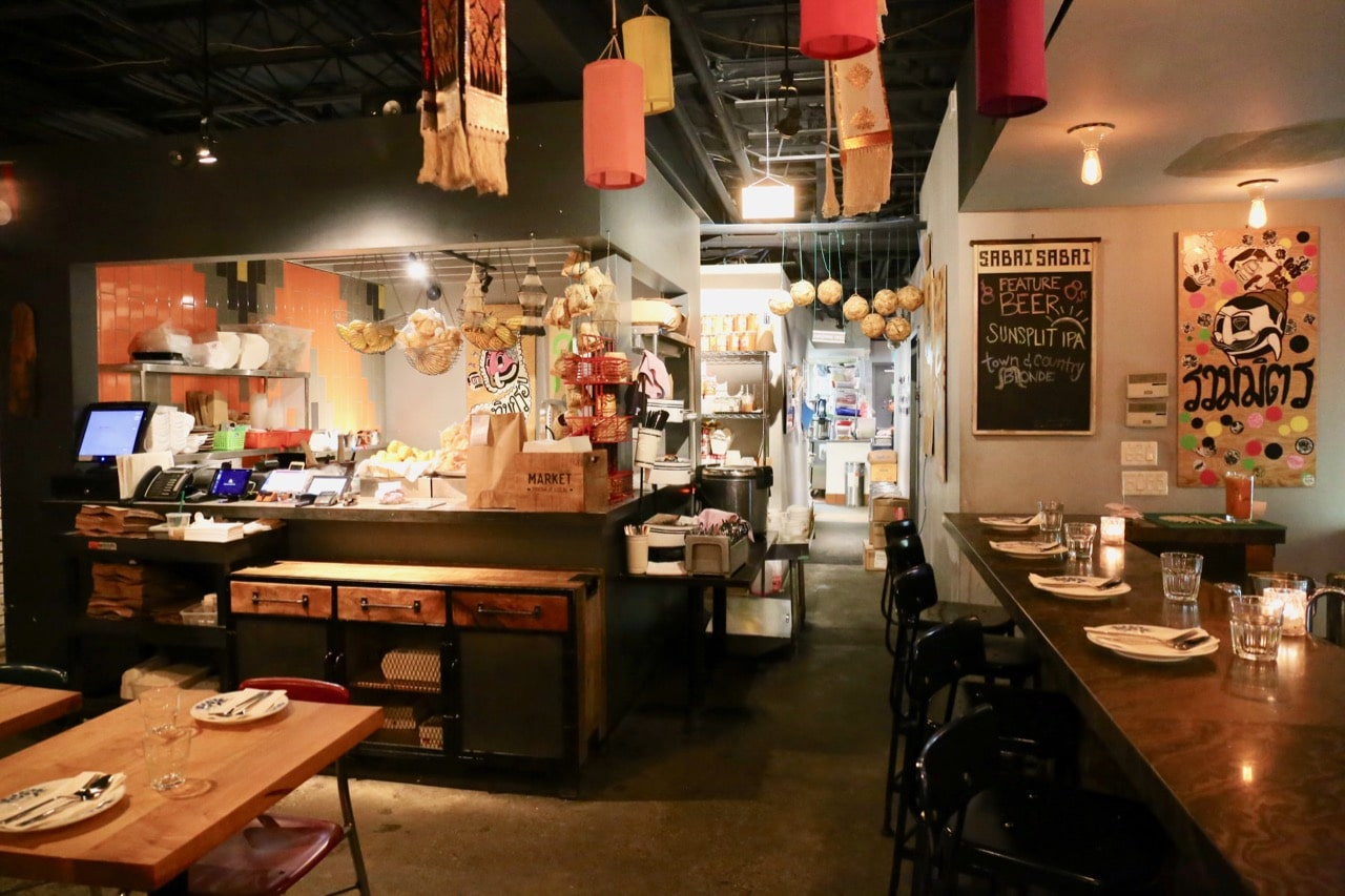 Sabai Sabai is a Thai restaurant in Toronto's Yorkville neighbourhood.
