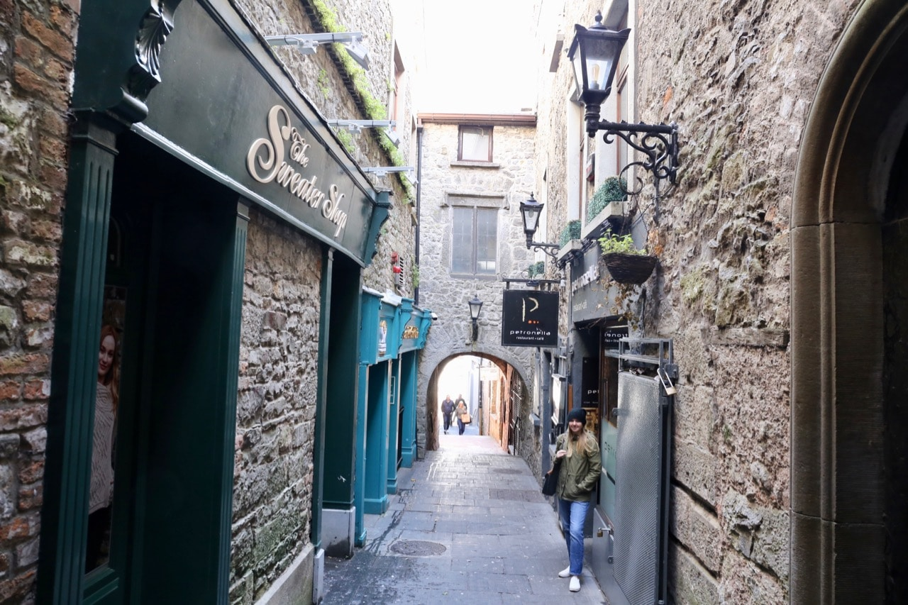 Things to do in Kilkenny: The city's cutest street is a hidden from view Butter Slip.