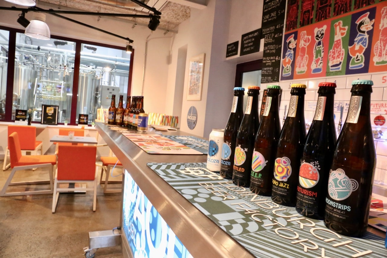 Edinburgh Beer Factory is located a short drive from the airport.