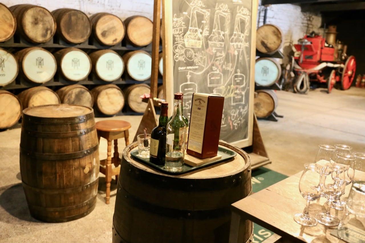 Sip and swirl award-winning Irish whiskey on a Jameson Distillery Tour.