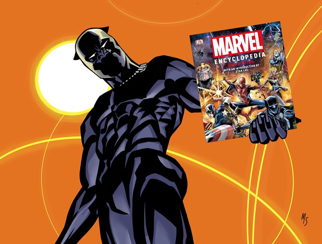 Black Panther fans will love Marvel Encyclopedia by DK Publishing.