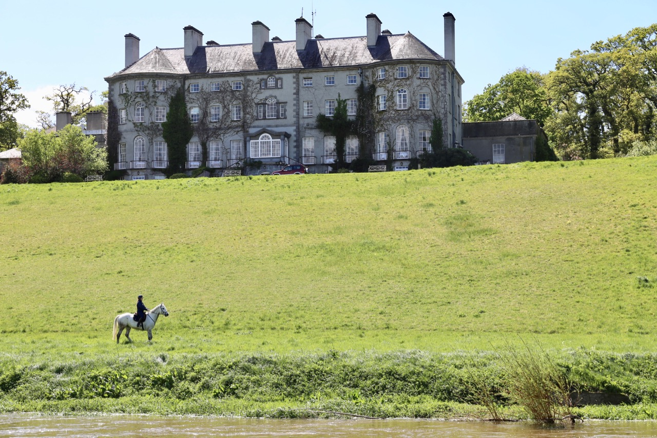 Horseback riding at Mount Juliet Estate in Kilkenny.