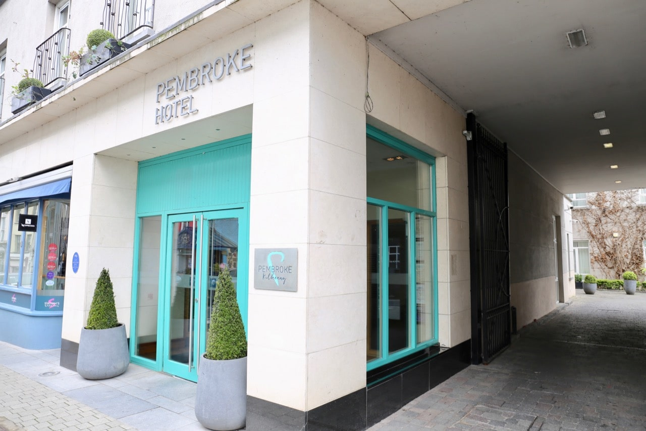 Skip inside the Pembroke Hotel Kilkenny on Patrick Street.