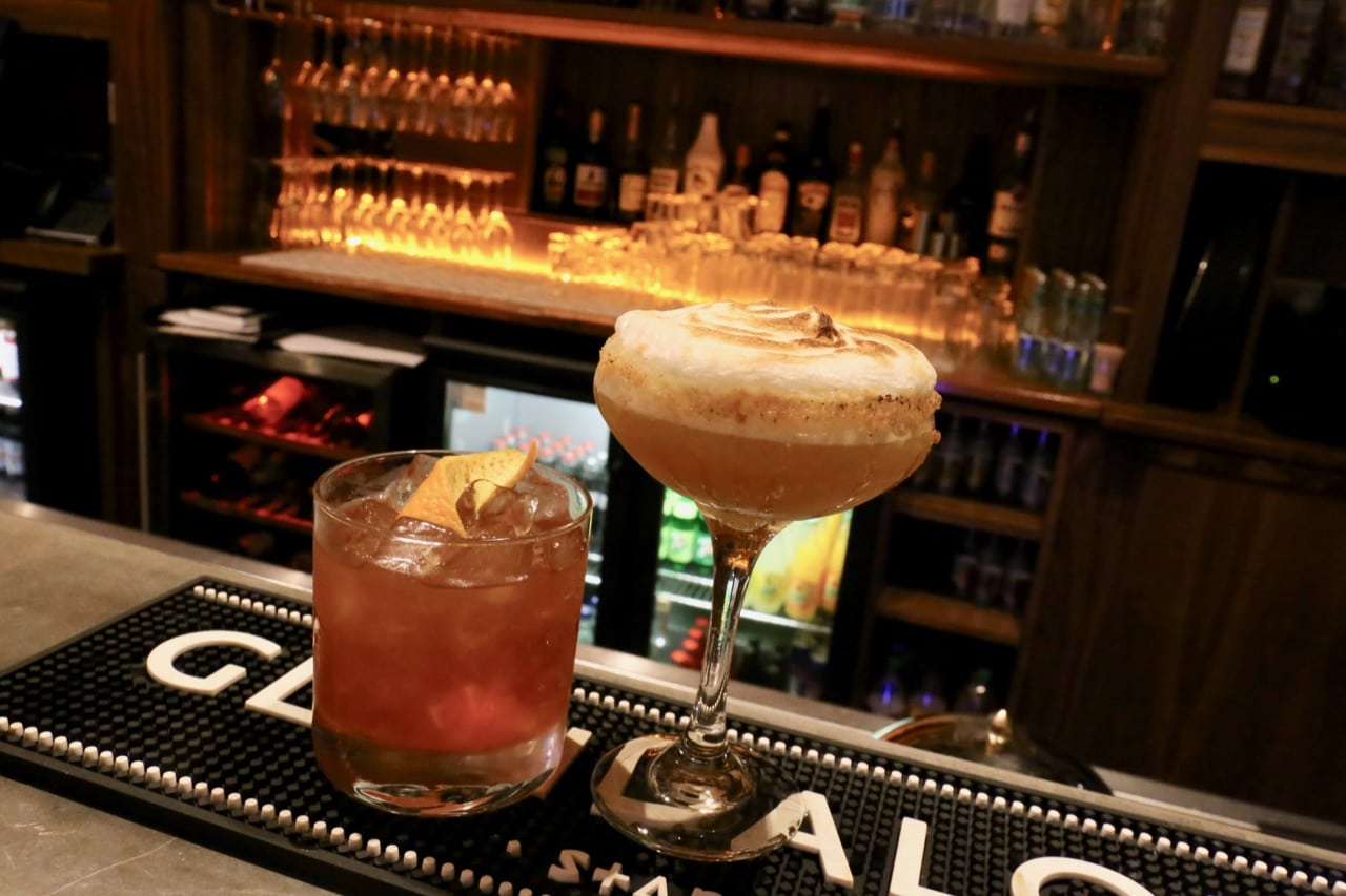 Hop up at the bar at Pembroke Hotel Kilkenny and sip the city's best craft cocktails.