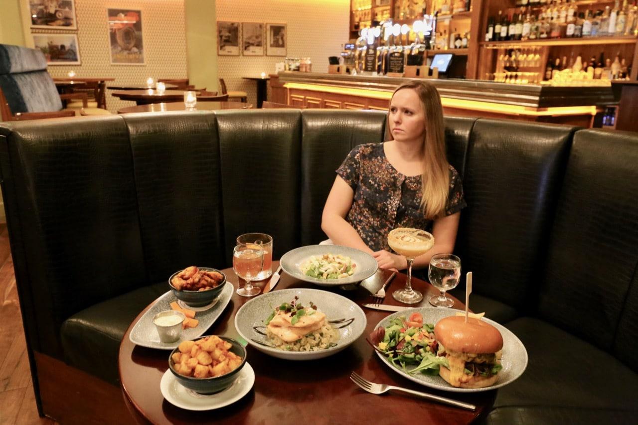 Enjoy a contemporary take on Irish pub grub at Statham's Bar & Restaurant.