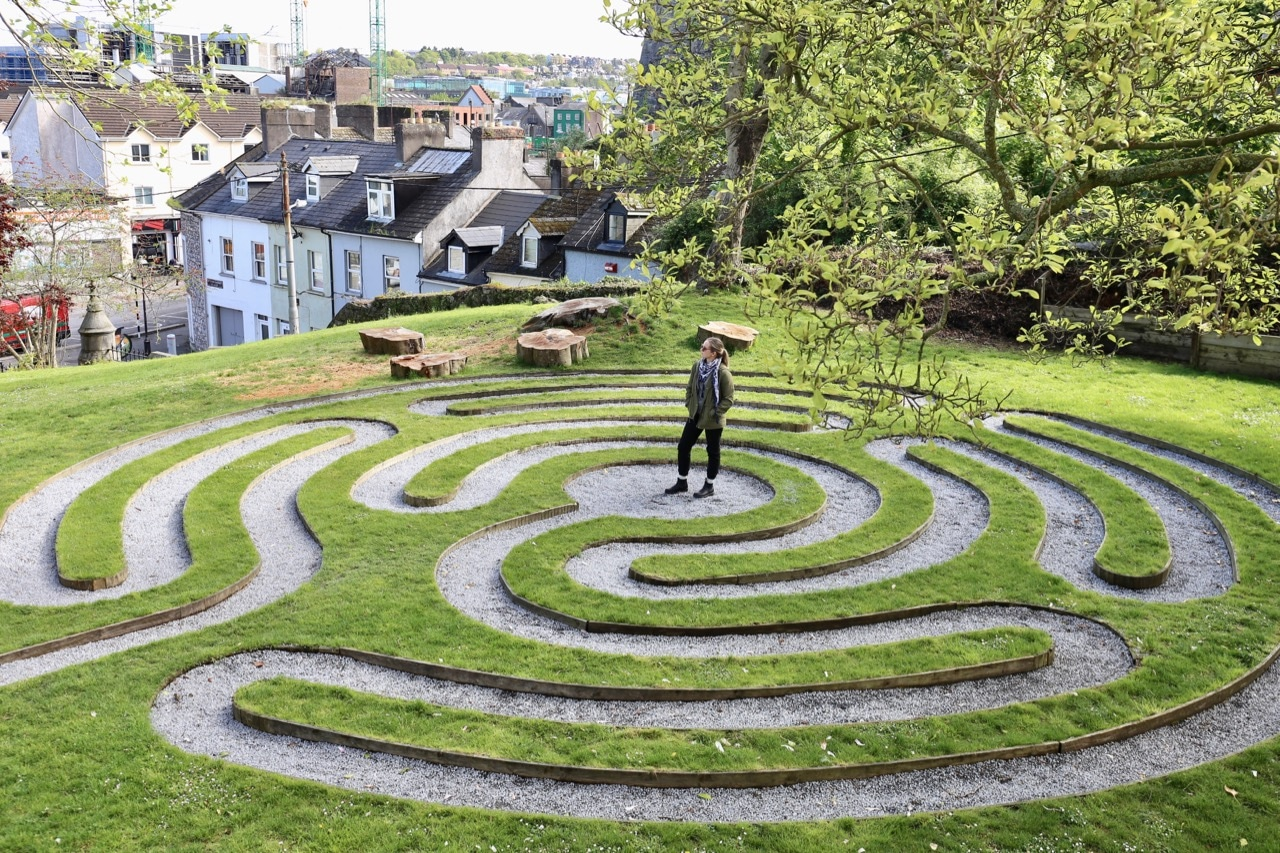 Enjoy a contemplative stroll through Saint Fin Barre's Cathedral's labyrinth.