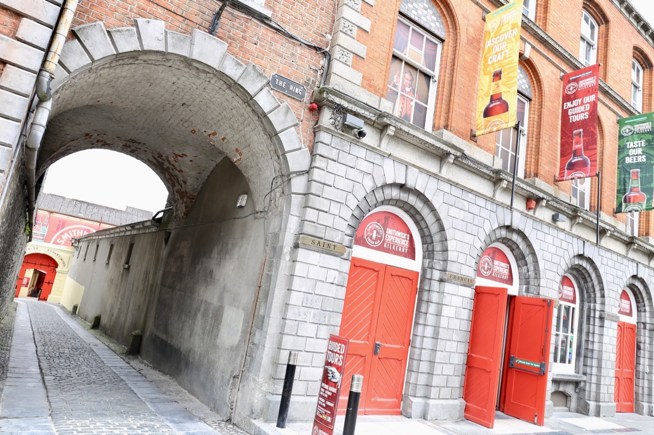 The Smithwick's Experience is located on Parliament Street in Kilkenny.