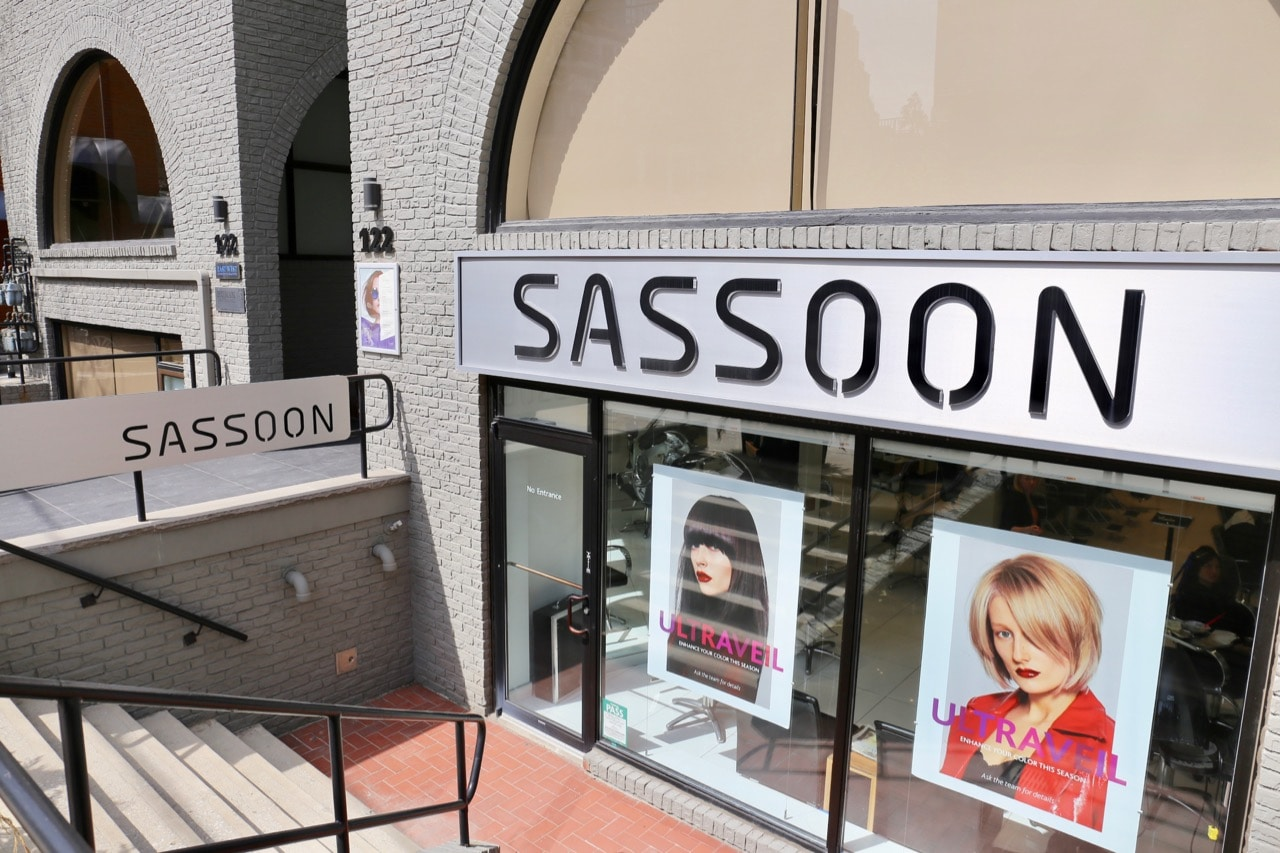 Step inside Vidal Sassoon Toronto in Yorkville.