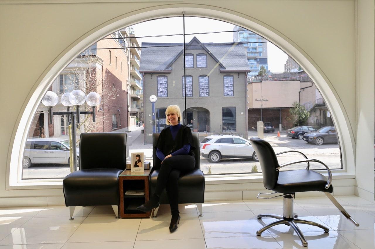 Lorraine Mandrew, Senior Creative Director at Vidal Sassoon Toronto.