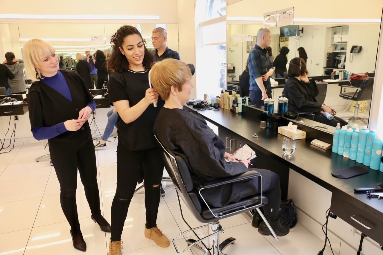 Sassoon Academy offers affordable haircuts in Yorkville.
