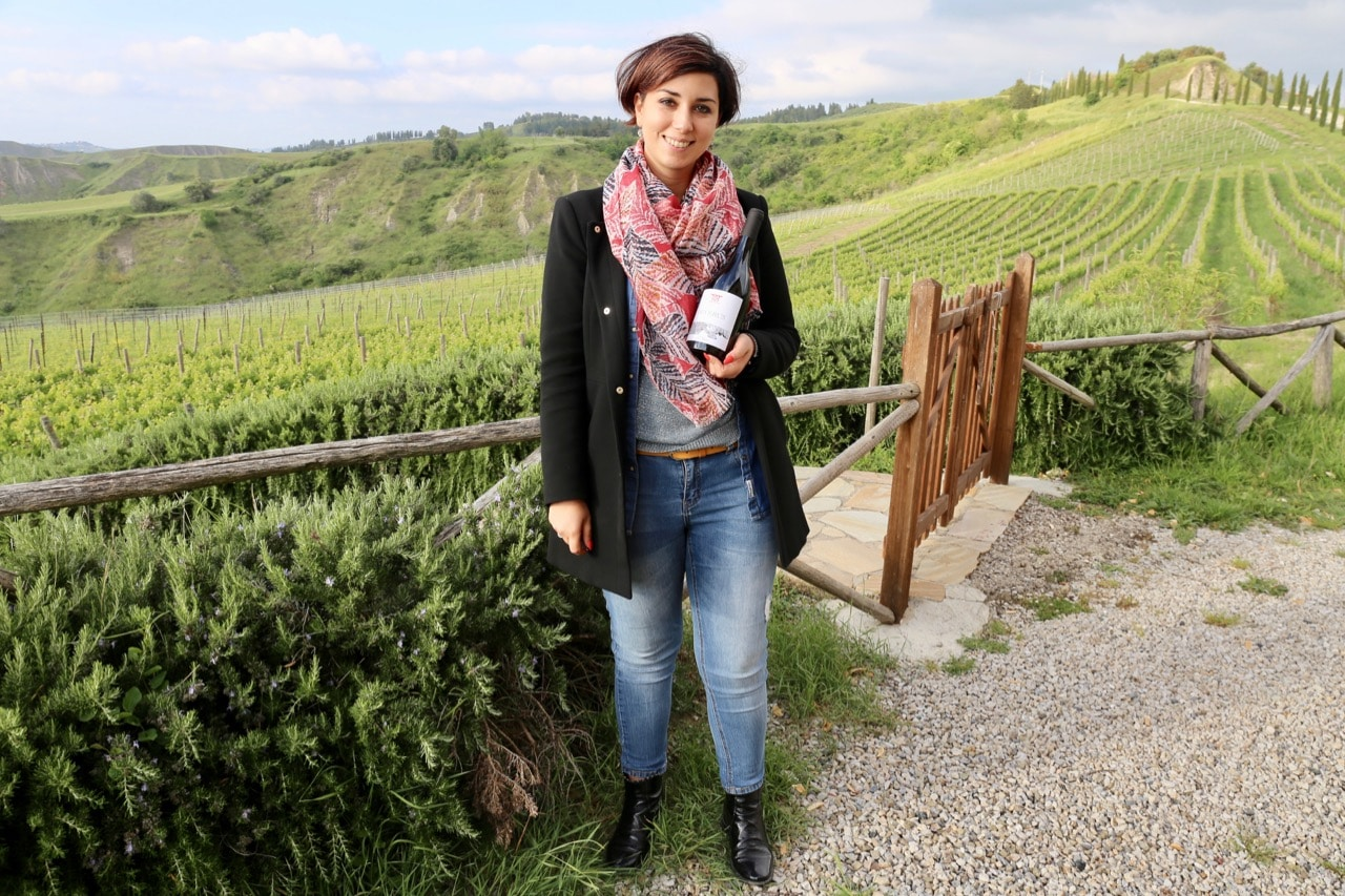 Claudia Del Duca offers a tour of Agriturismo Volterra Podere Marcampo.