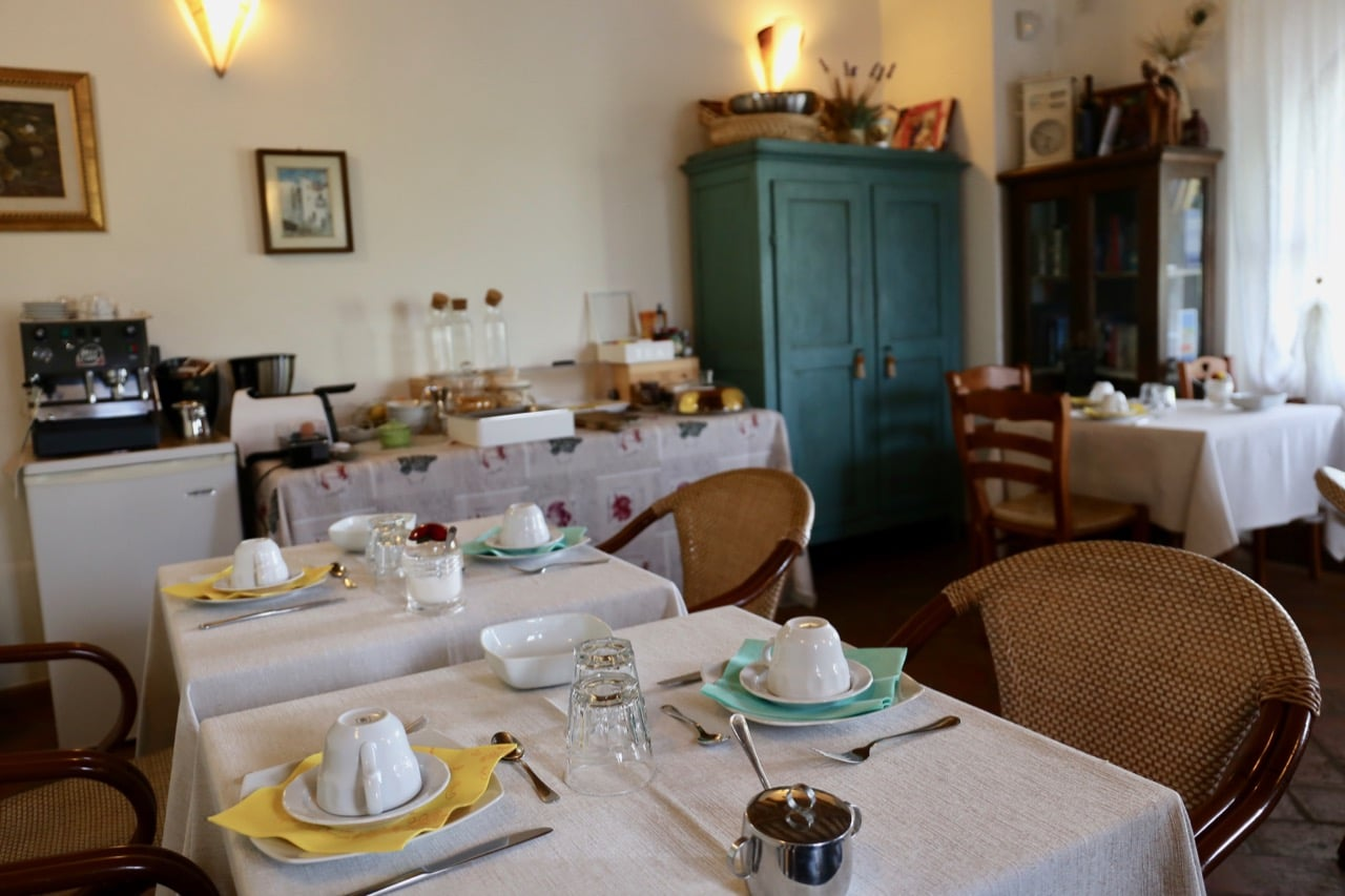 Enjoy a Tuscan breakfast each morning at Agriturismo Volterra Podere Marcampo.
