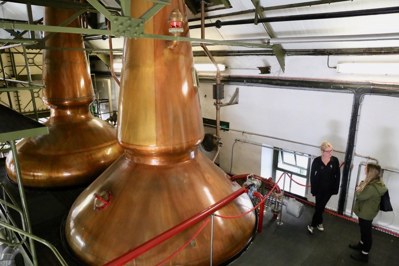 Enjoy an education tour of Ardbeg Distillery.