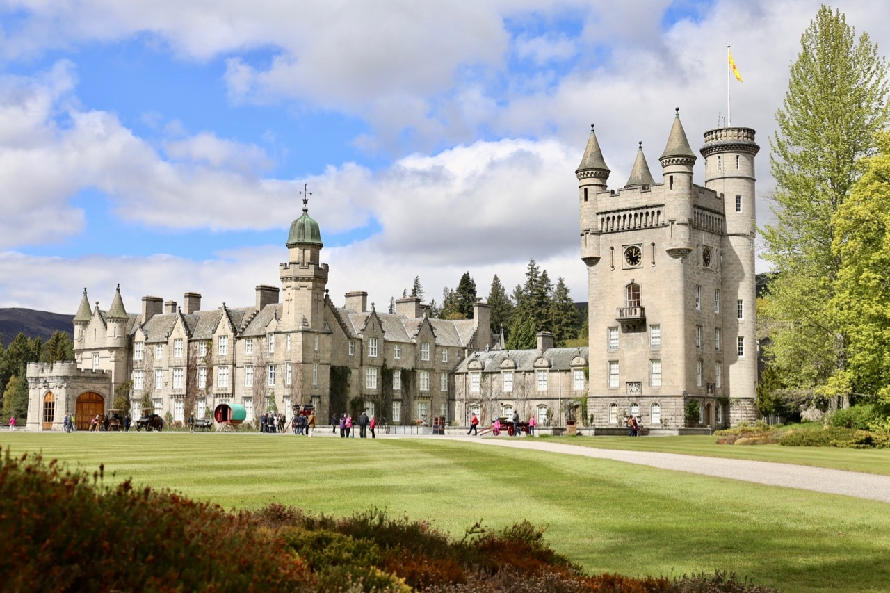 Enjoy a stroll through Queen Elizabeth's Scottish residence, Balmoral Castle.