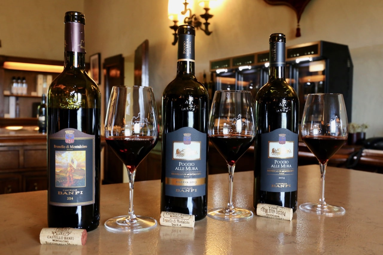 Pair the best Tuscan dishes with its finest wine, Brunello di Montalcino.