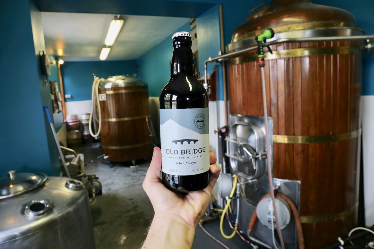 Craft beer fans should not miss a visit to Cuillin Brewery.