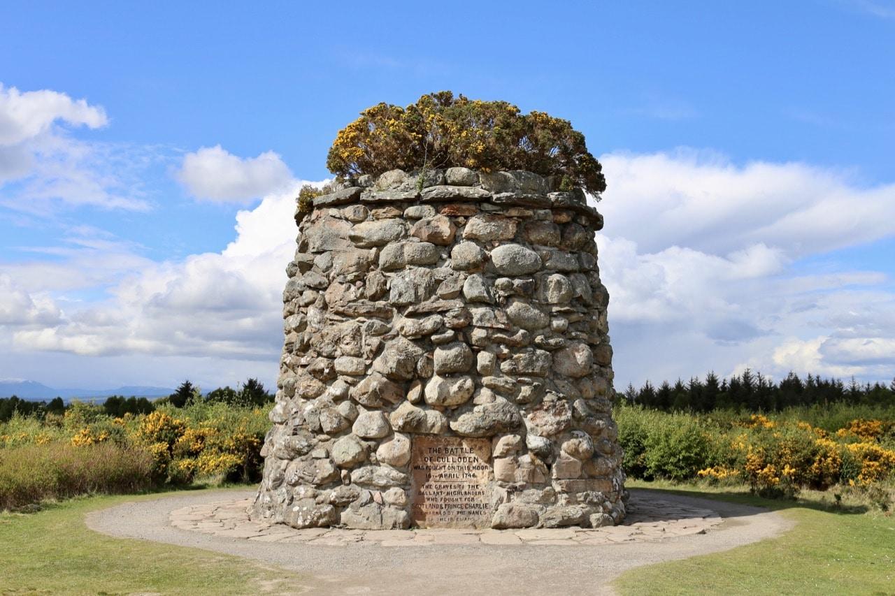 Scottish history buffs appreciate a visit to Culloden Battlefield.