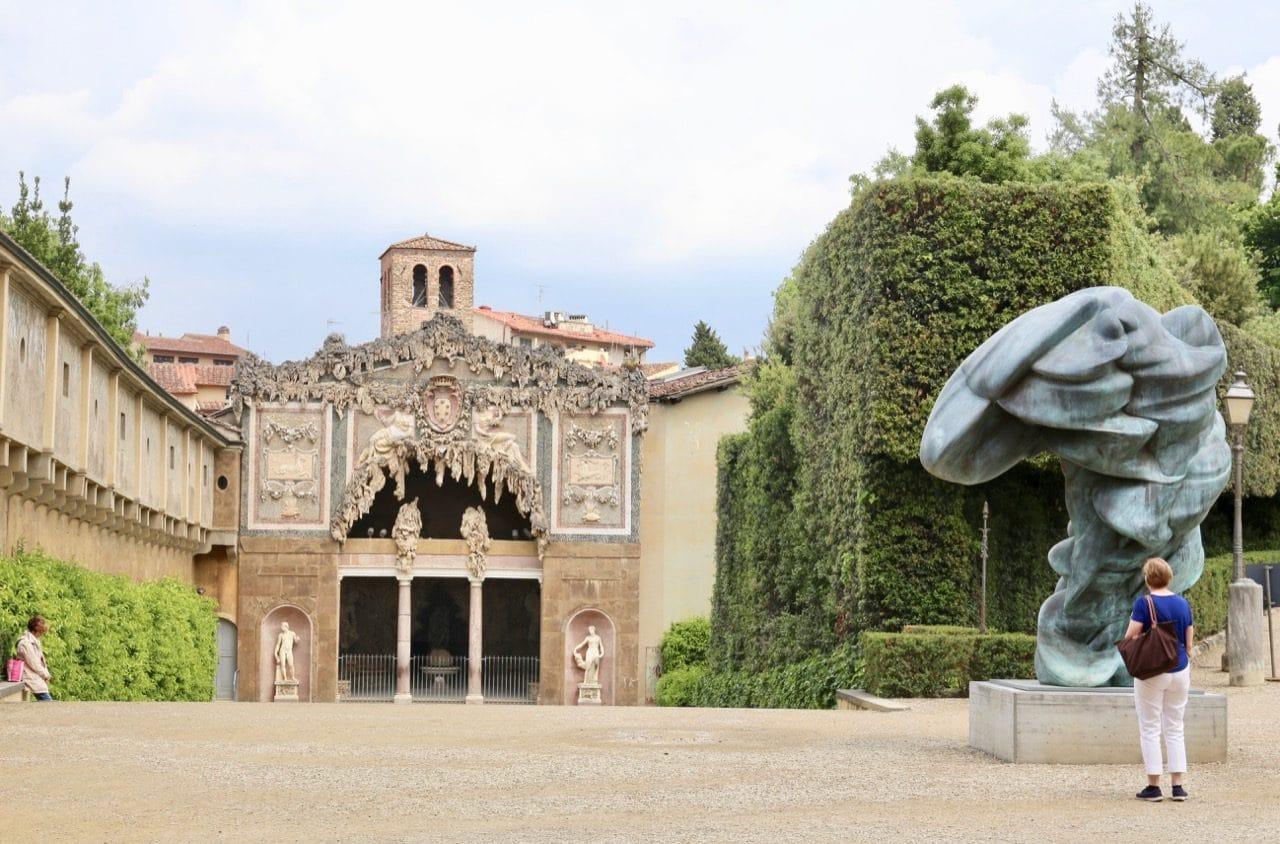 Enjoy a stroll through Boboli Gardens at Pitti Palace.