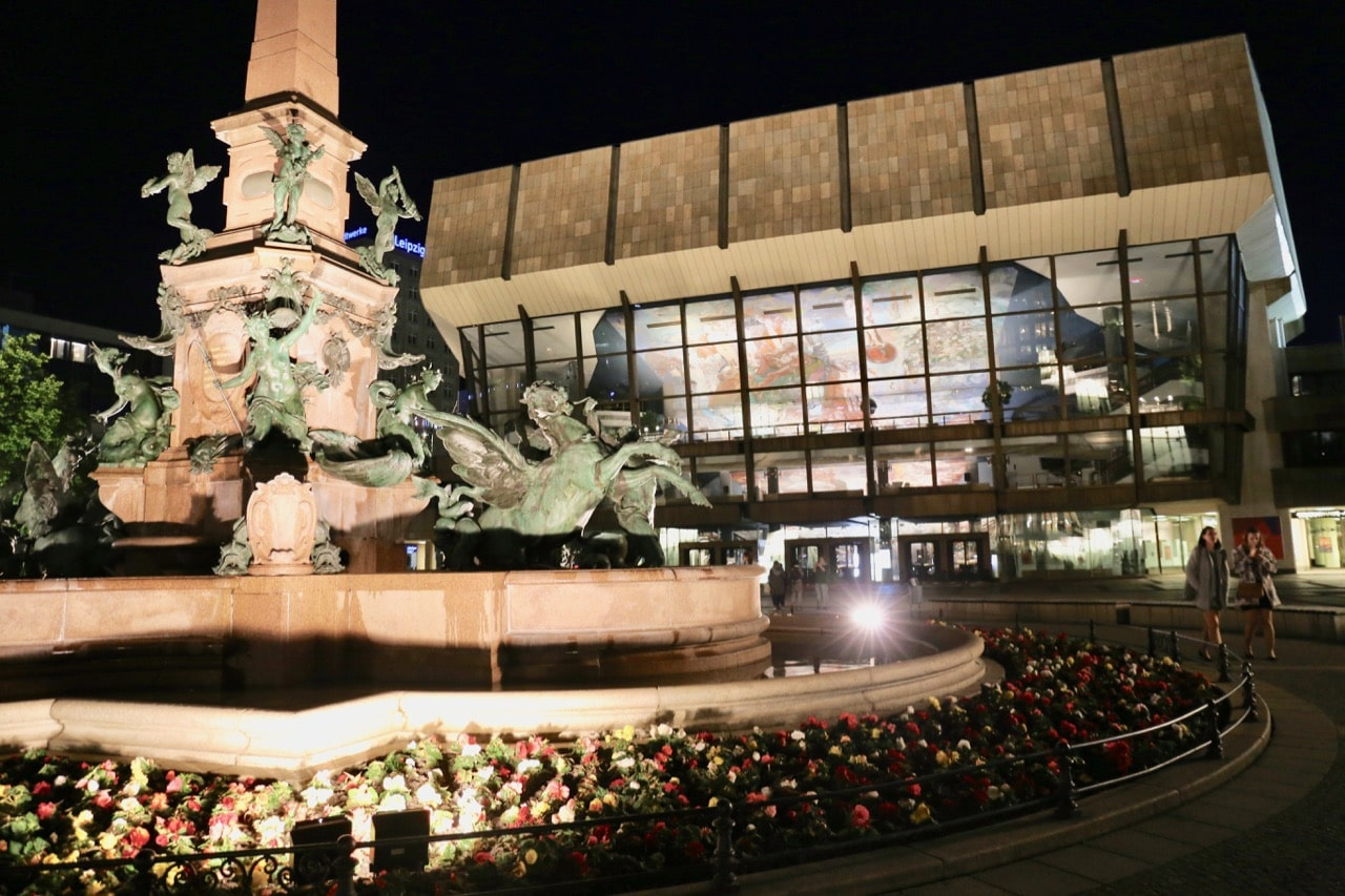 Gewandhaus is home to Leipzig's world-renowned symphony orchestra.