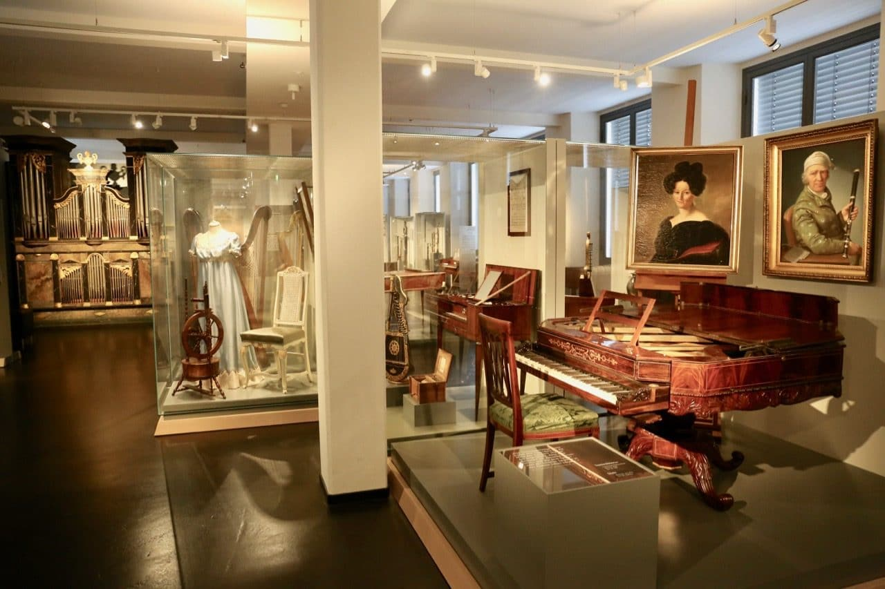 Organ and vintage piano fans should visit the Museum of Musical Instruments.