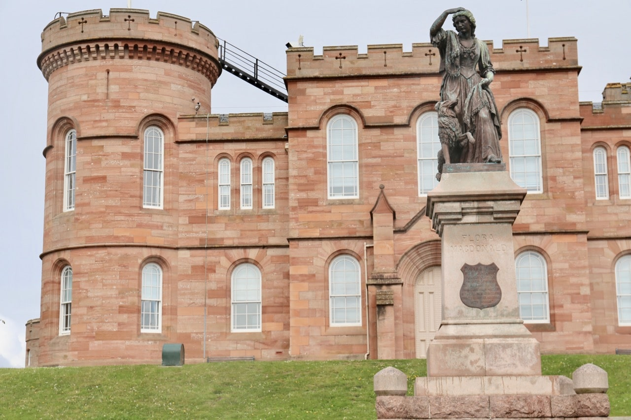 Things To Do in Inverness: Enjoy panoramic views of the city from its iconic castle.
