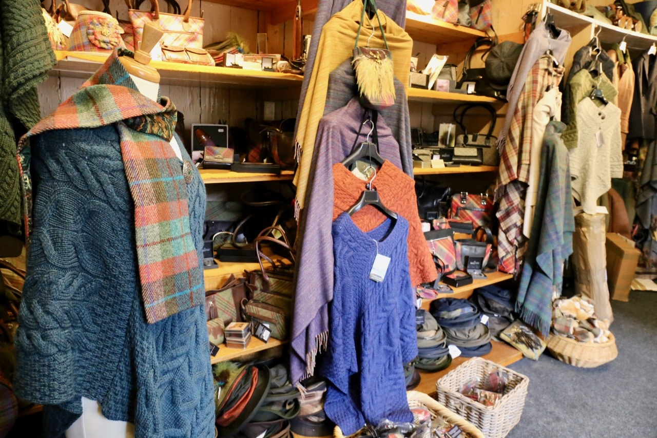 Things to do on Islay: Buy quality Scottish fashions at Islay Woollen Mill.
