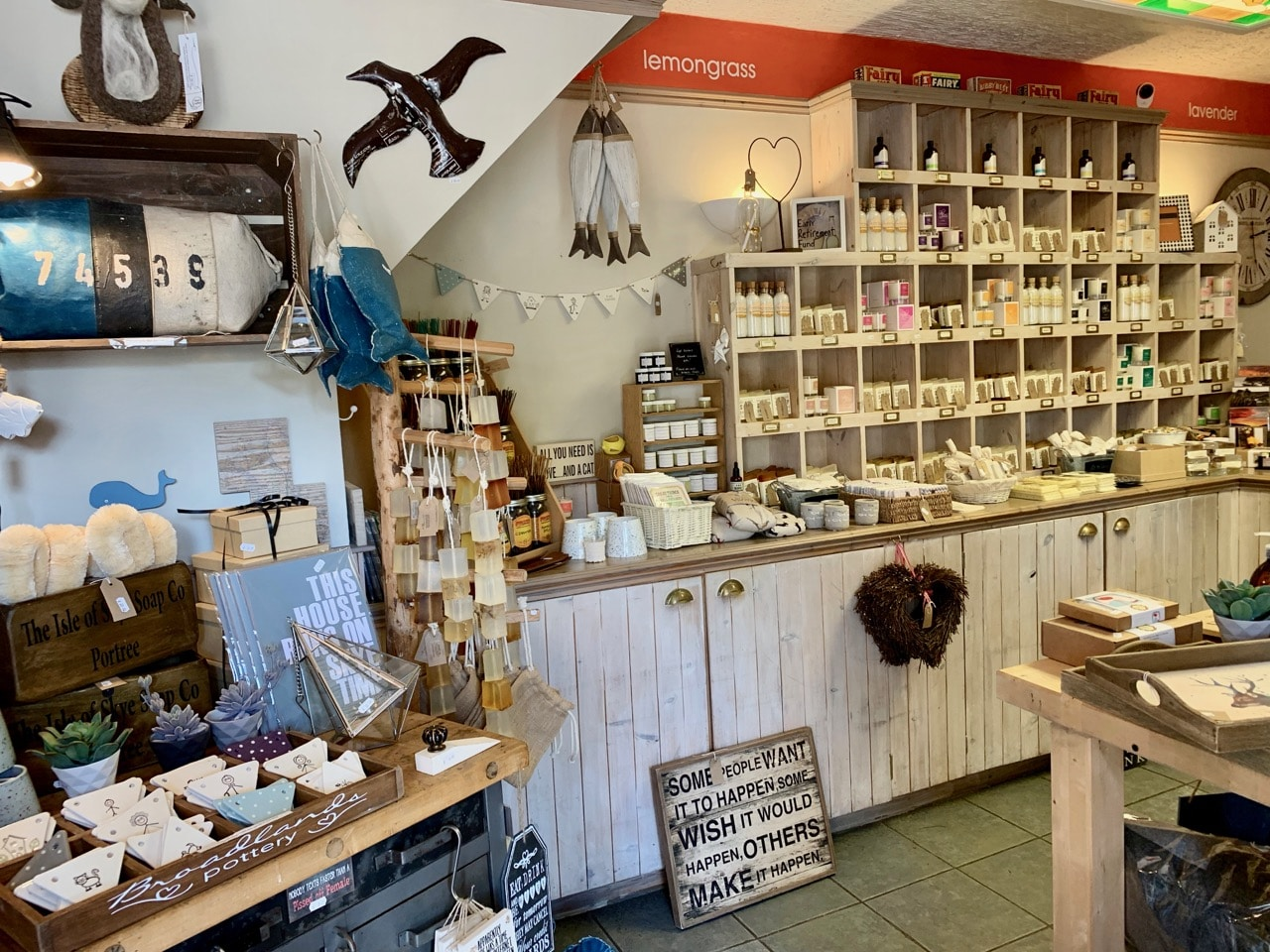 Things To Do In Skye: Shop for locally made soap in Portree.
