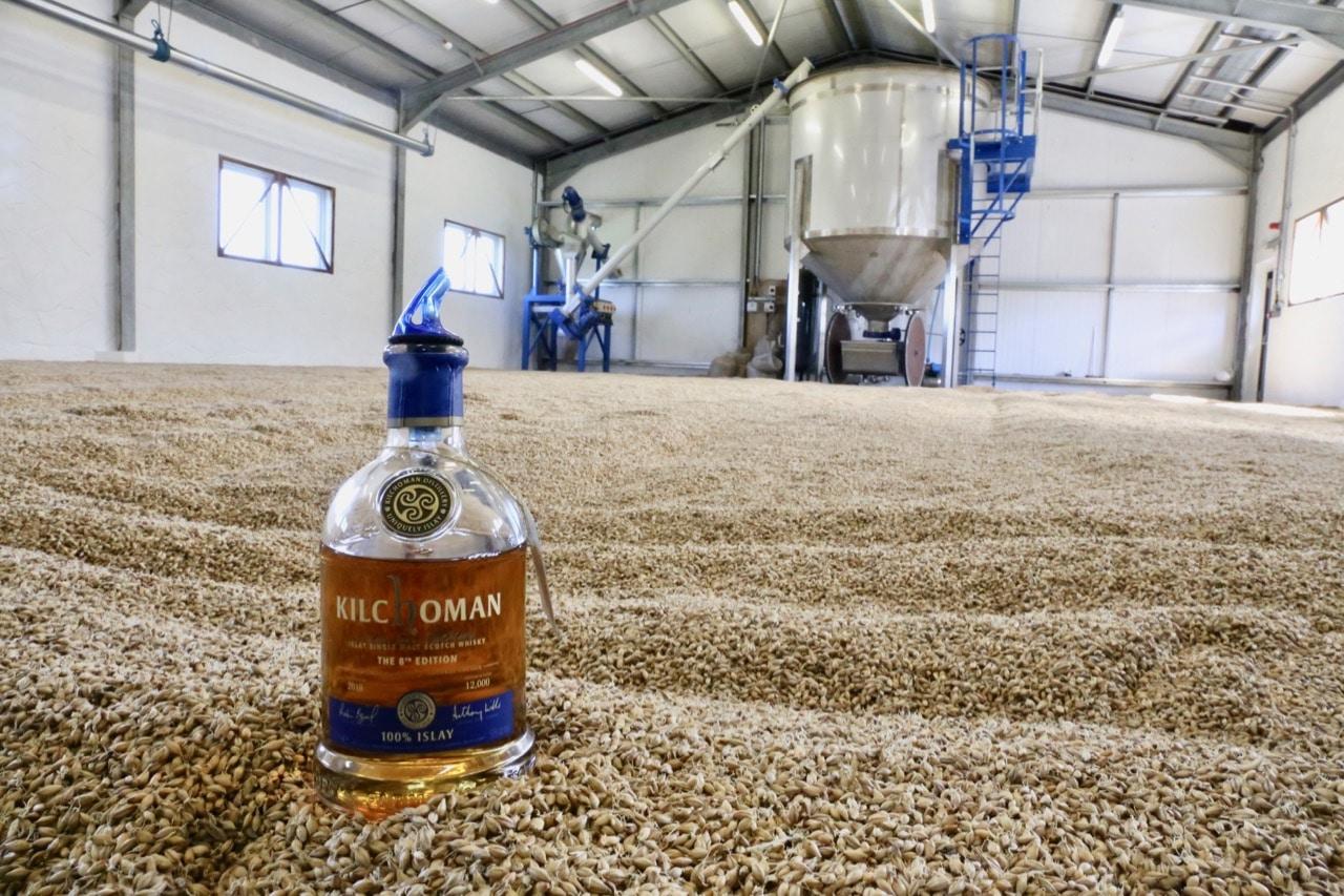Enjoy a single malt whisky tour at Kilchoman Distillery.