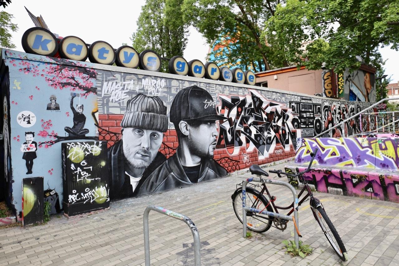Kulturzentrum Scheune is a hipster culture centre in Dresden's New Market.