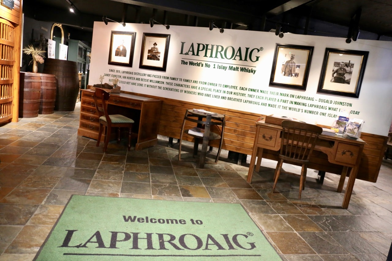 Of all the Islay Distilleries, Laphroaig is unique in that it offers its guests a museum.