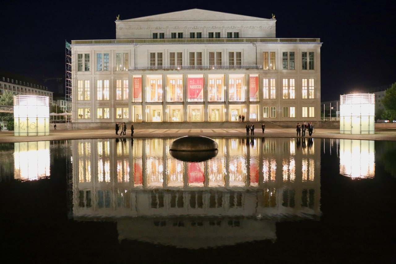 Enjoy a night out at the opera in gay Leipzig.