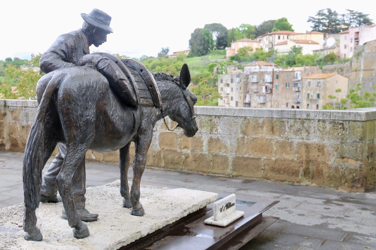 Pitigliano Italy's most adored monument is Al Villano.