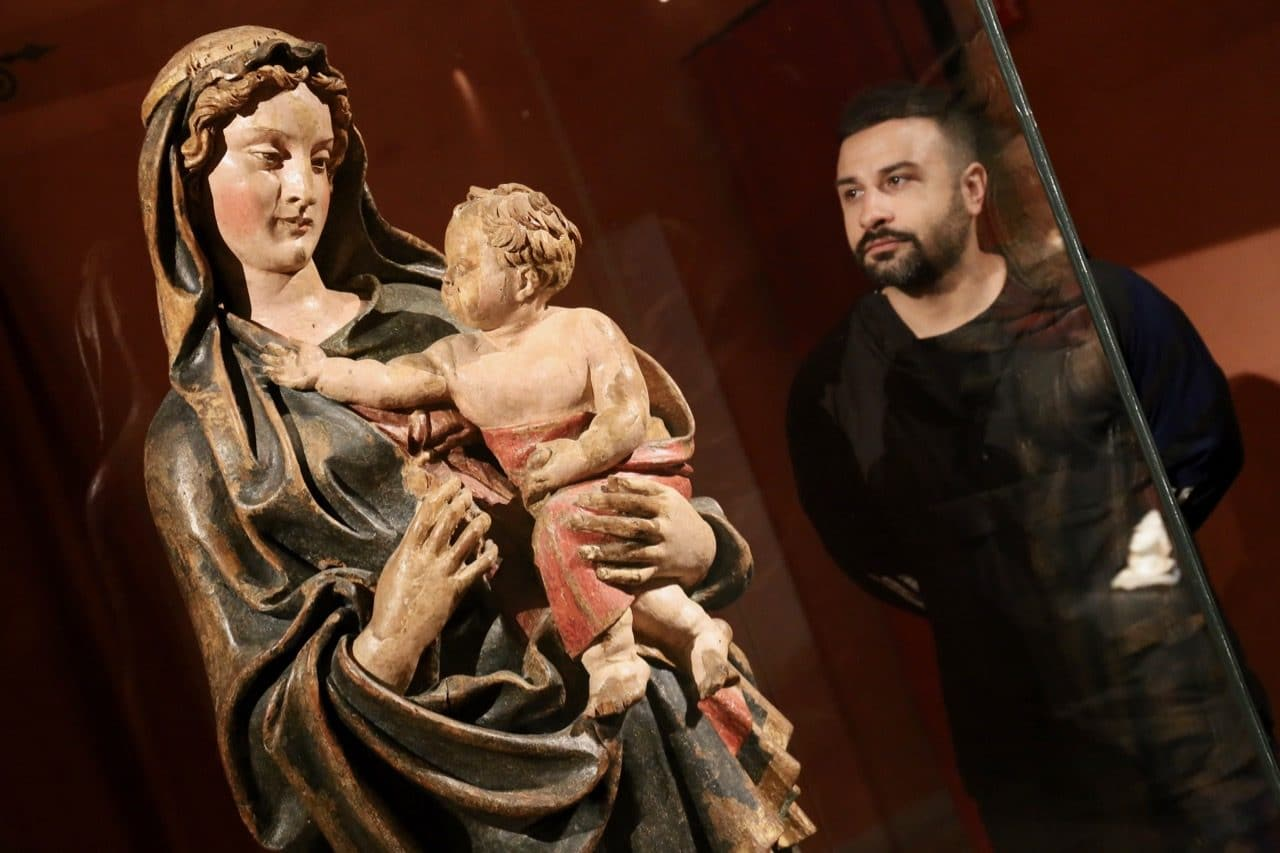 Many of the town's most famous artworks are on show at Museum of Palazzo Orsini.