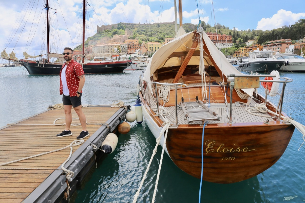 Take your Tuscan honeymoon to the beach and marvel at all the luxury yachts in Porto Ercole.