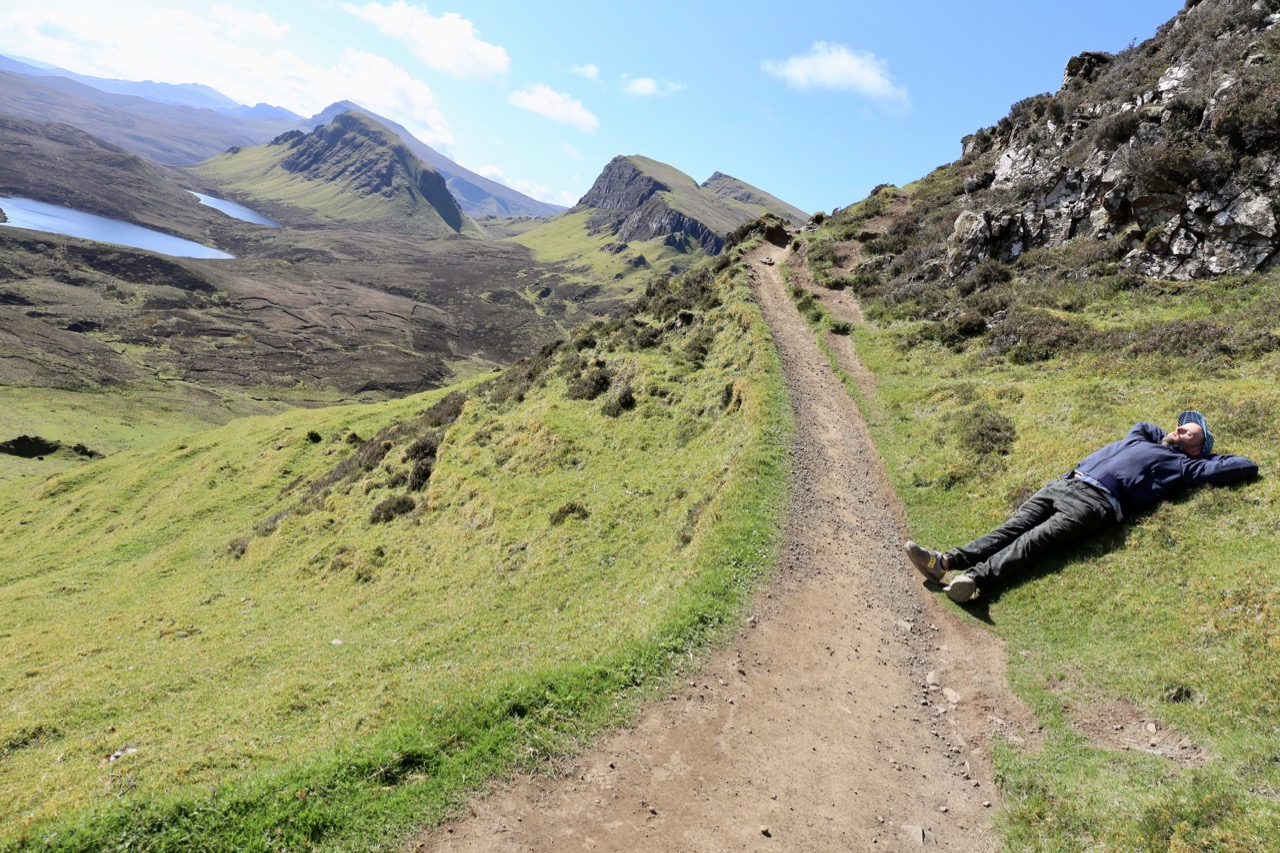 Things To Do in Skye: Hike the Quiraing on a sunny day.