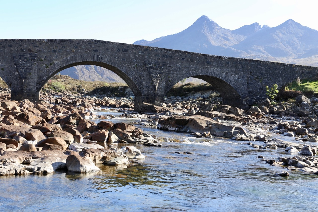 Things To Do in Skye: Photograph the iconic Sligachan Old Bridge.