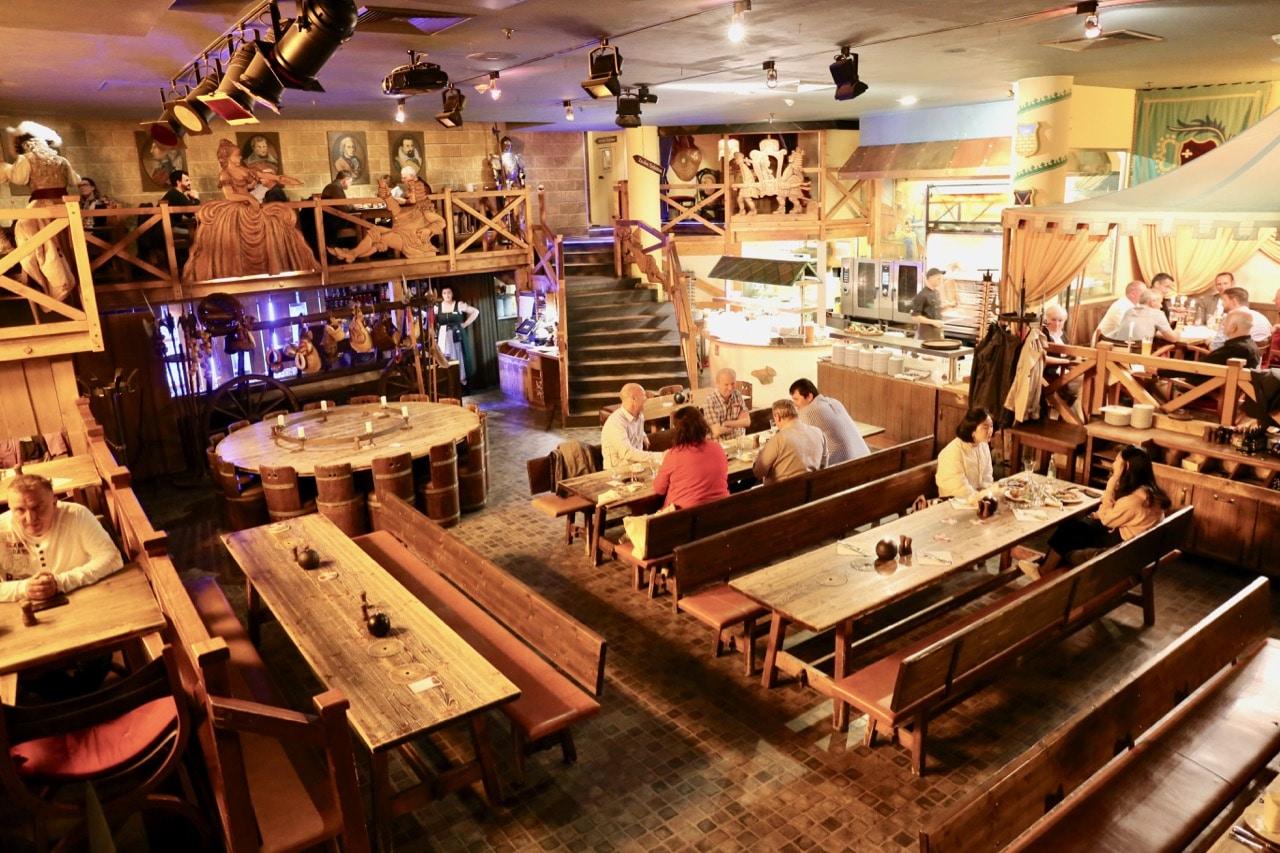 Sophienkeller is one of the best restaurants in Dresden to try German cuisine.