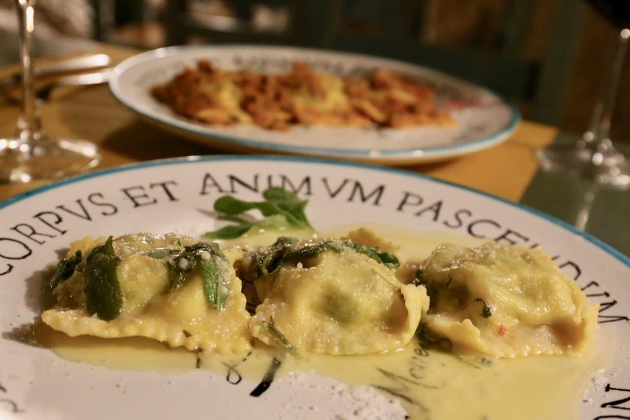Cantina L'Ottava Rima serves hearty dishes whose recipes are local to Sorano Italy.